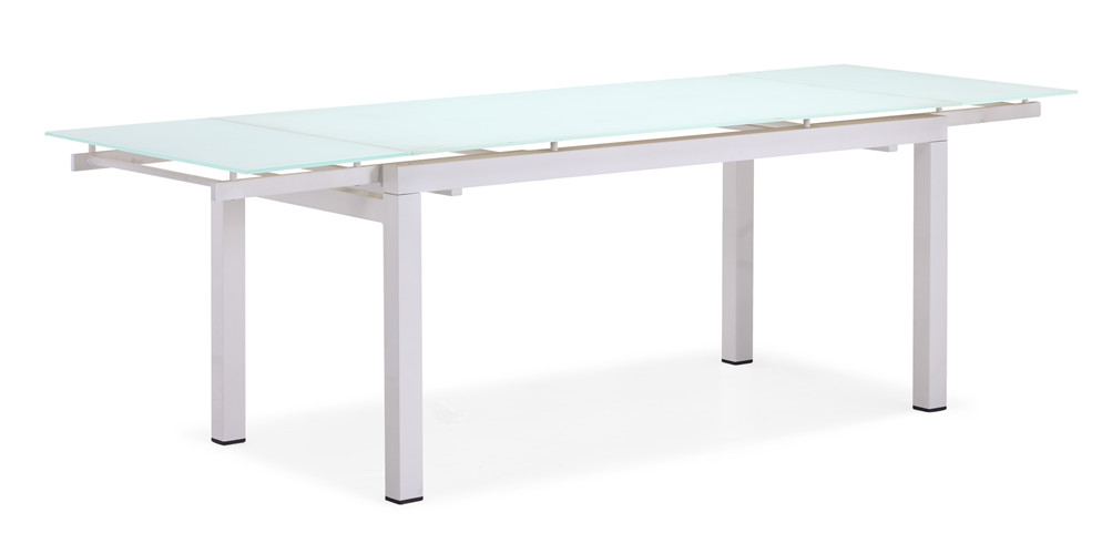 Outdoor extension glass dining table(T039AG)
