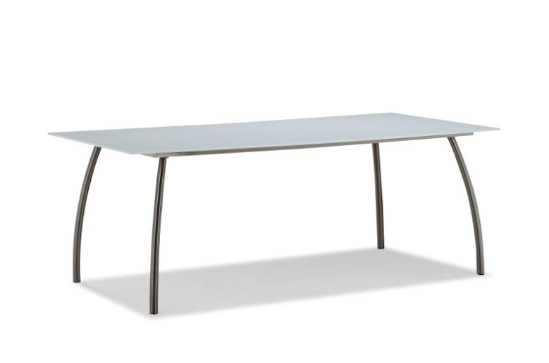 Hot sale modern garden dining furniture table (T067G)