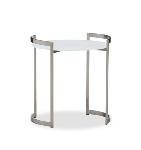 Round garden side table (TC012G)