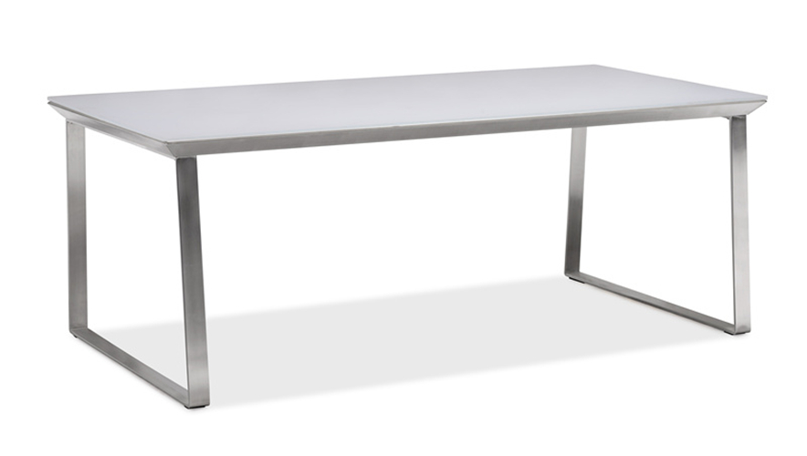 Metal garden table hot sale patio dining table (T089G)