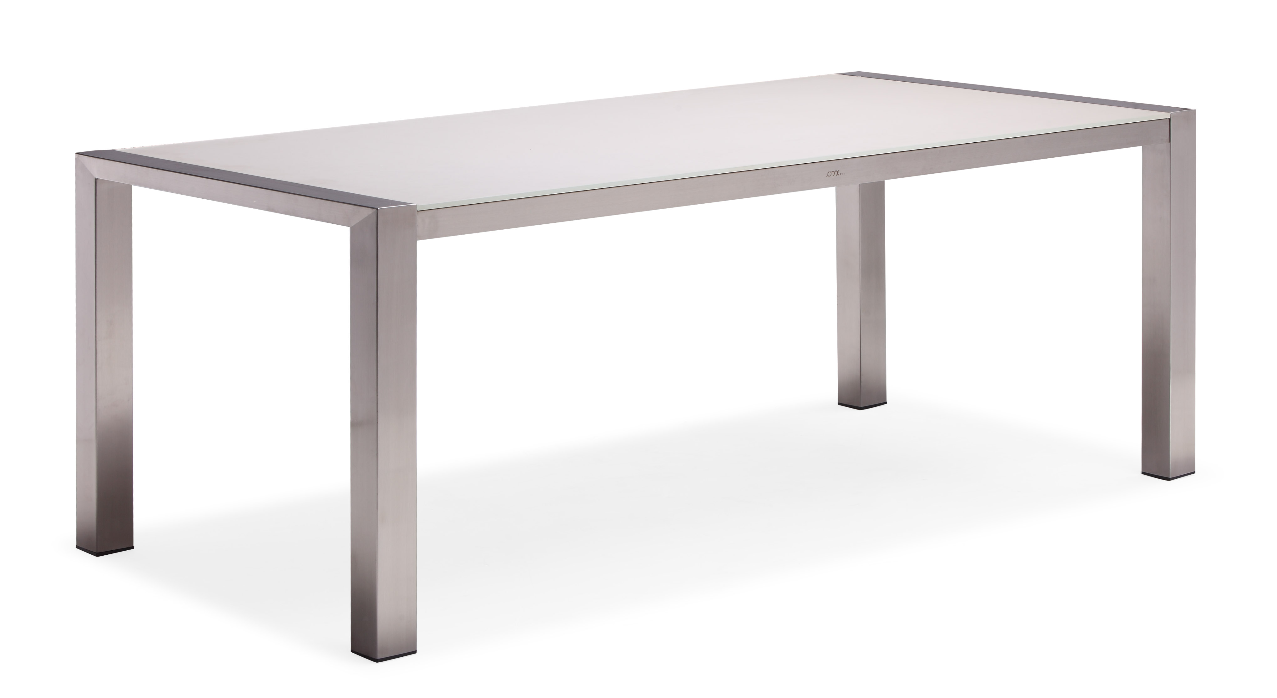 Metal outdoor dining furniture patio dining table (T009G)