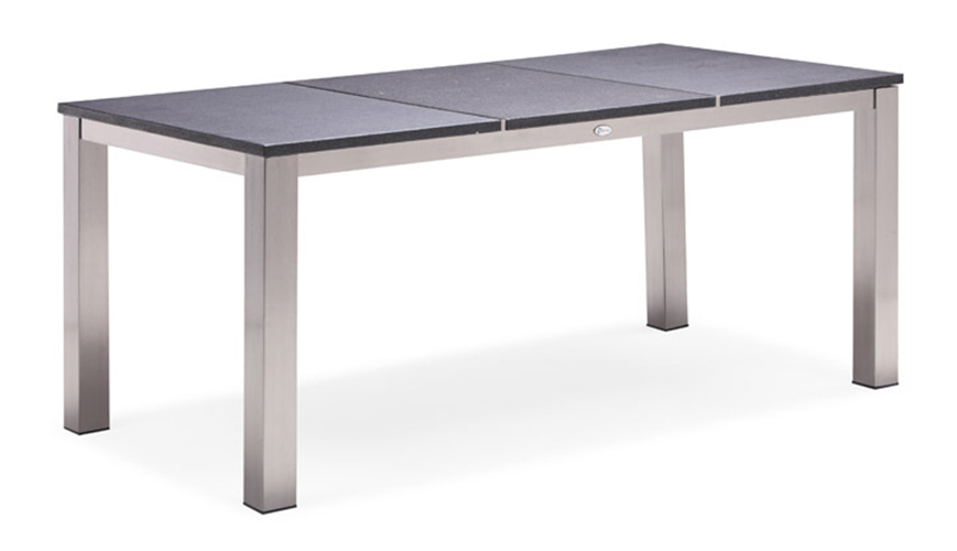 Stainless steel outdoor furniture dining table (T001S/3)