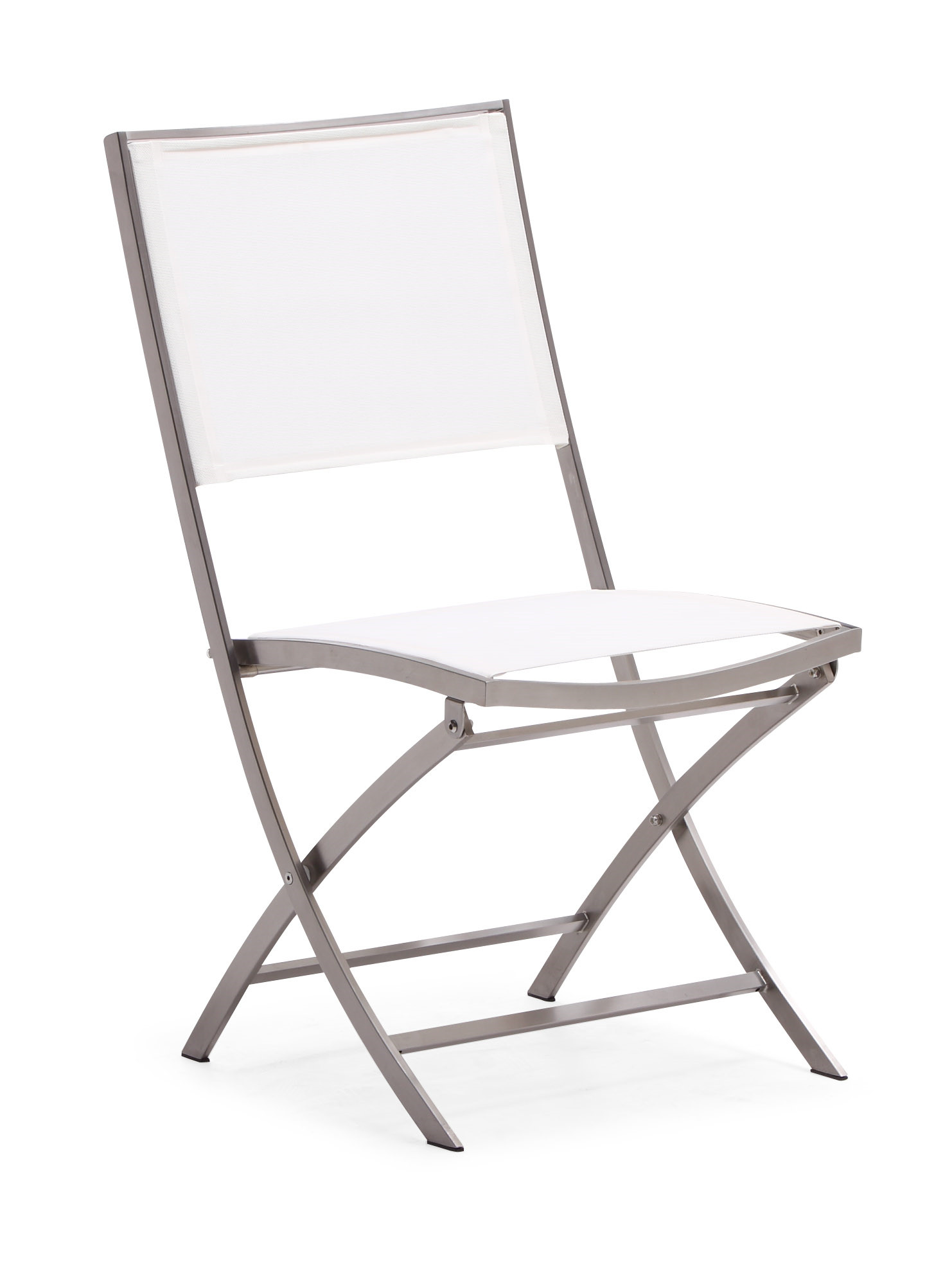 Patio folding chair stainless steel garden chair (Y064B)