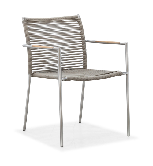 Outdoor modern dining arm chair(Y071SF)