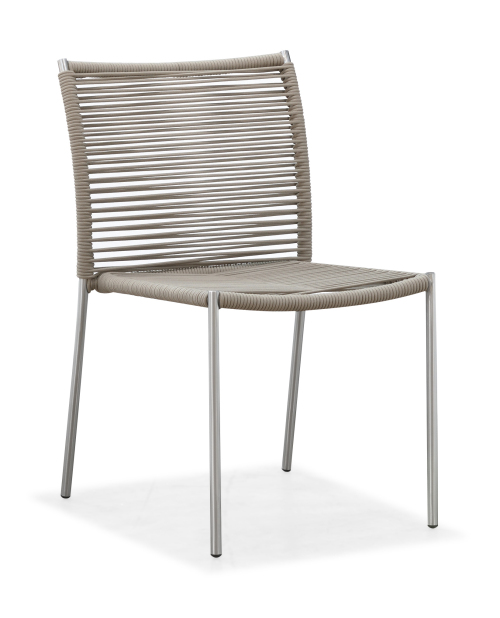 Outdoor modern dining chair armless(Y071S