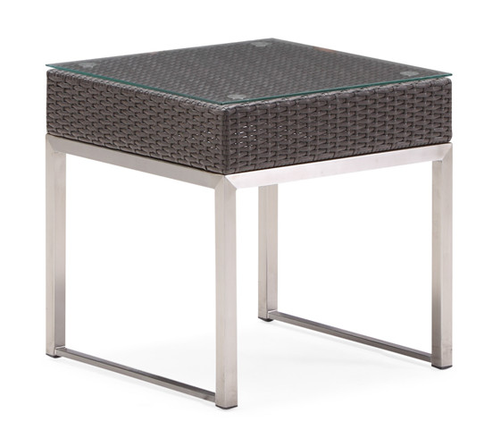Rattan garden end table (T007TJ)