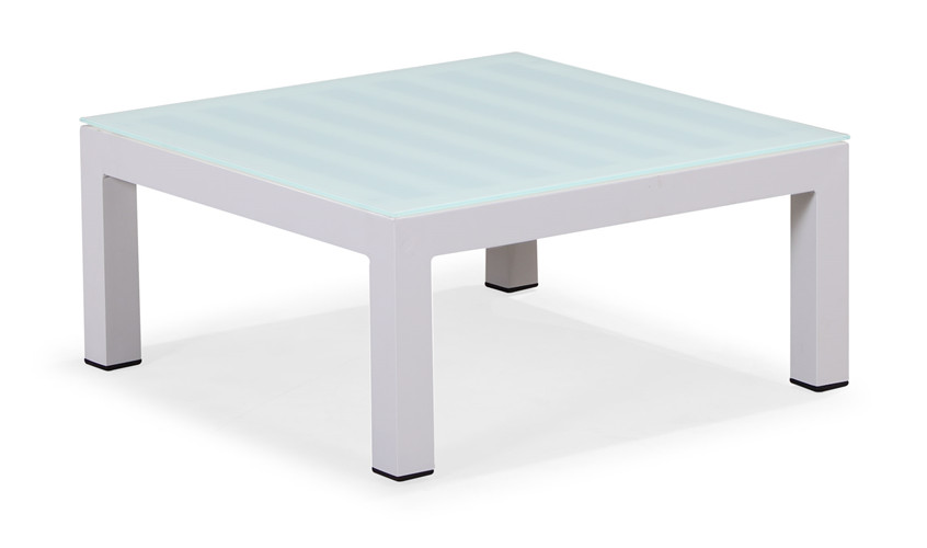 Powder coated aluminium end table(T055AGJ)