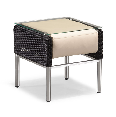 Rattan side table of chaise lounge(T082MPTJ)