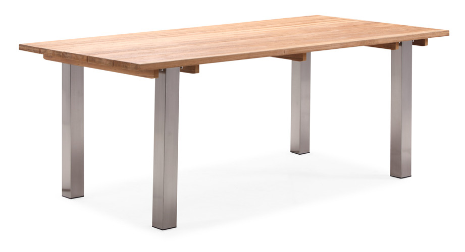 Teak wood outdoor dining table (T064M)