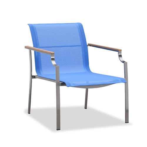 New design blue outdoor sling club chair(S304BF)