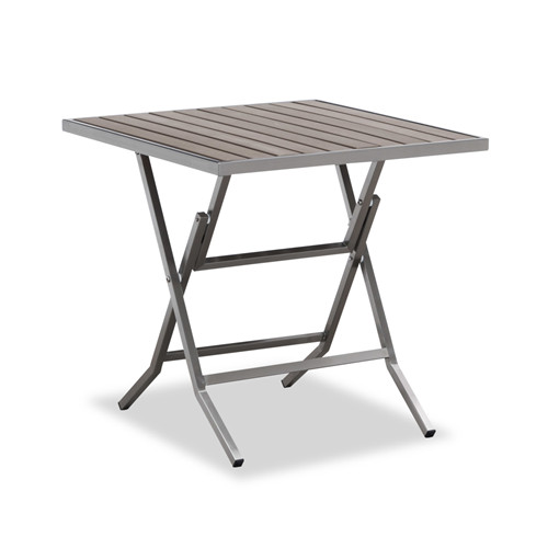 Folding table with plastic wood top(T118M)